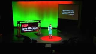 Inspiring sustainability actions by design: Marni Evans at TEDxSevenMileBeach