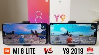 Prueba de Rendimiento Huawei Y9 2019 vs Xiaomi MI 8 Lite