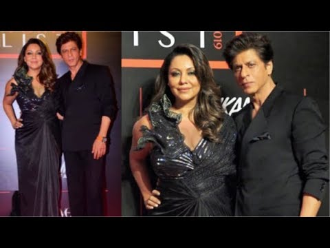 Shahrukh and Gauri Khan COUPLE GOALS At Vogue x Nykaa Awards 2019