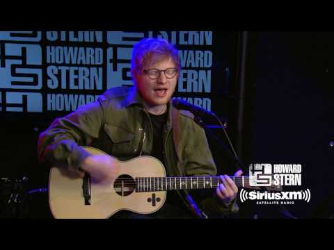 """Ed Sheeran """"Castle On The Hill"""" Live On The Howard Stern Show"""