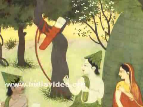 Rama chasing the magic deer