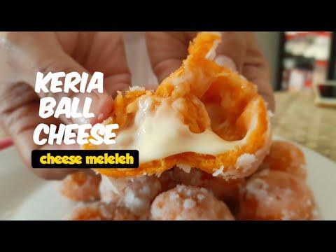 cara-buat-kuih-keria-|-resepi-mudah-dan-sedap,-keria-ball-cheese