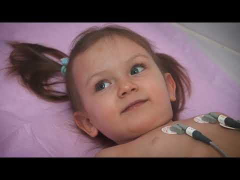 Как делают кардиограмму сердца детям видео