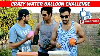 Crazy Water Balloon Challenge l The Baigan Vines