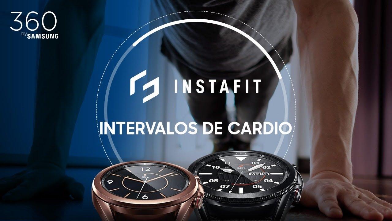 Samsung | InstaFit | Rutina intervalos de cardio