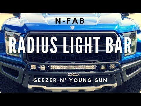 N Fab Prerunner Light Bar Install Part 1 Youtube