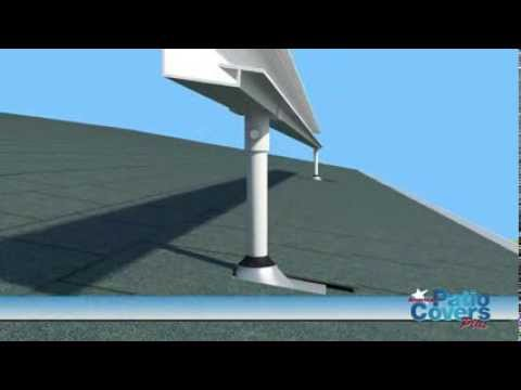 Skylift Hardware For Shed Hanging Rail Youtube
