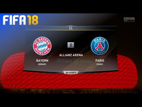 FIFA 18 - FC Bayern München vs. Paris Saint Germain @ Allianz Arena