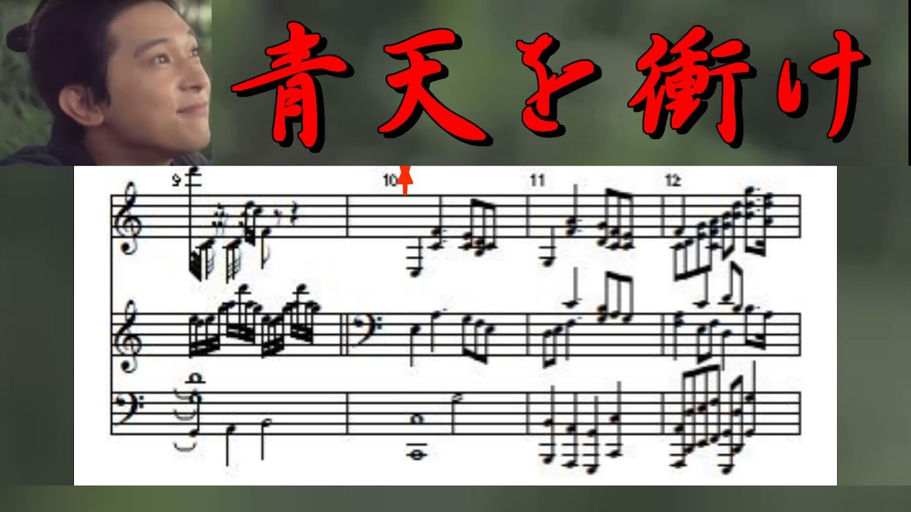NHK大河ドラマ【青天を衝けOP】 オーケストラver. ☆エレクトーン多重演奏(楽譜付き)