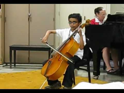 Adam Mandela Walden, age 11 (cellist from 'Autism: the Musical')
