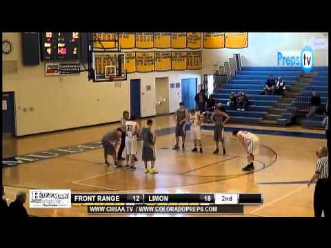 CHSAA Boys Basketball Playoffs - Front Range Christian School vs Limon Class 2A District 4  Round