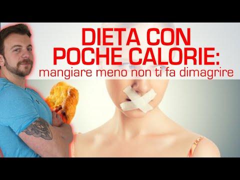 Dieta con poche calorie: mangiare meno non ti fa dimagrire