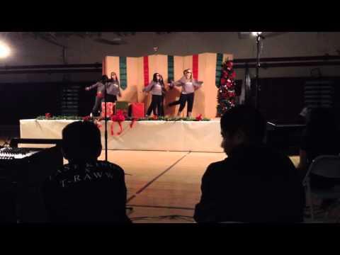 El Monte Middle School Teachers mash up dance 2015