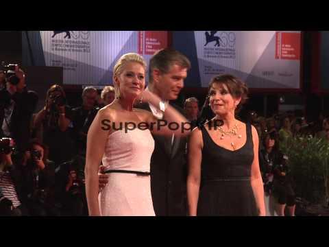 Susanne Bier, Pierce Brosnan, Trine Dyrholm at Den Skalde...