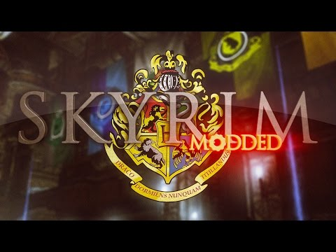 Skyrim Harry Potter Mod - Hogwarts, School of Witchcraft and Wizardry
