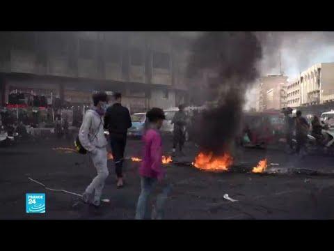 متظاهرون عراقيون يقتلون شابا في ساحة الوثبة ببغداد..لماذا؟  - نشر قبل 1 ساعة