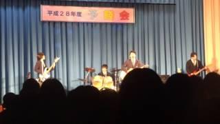 2017年2月14日 仰星学園高等学校 予餞会 軽音楽部 HISTOLY.