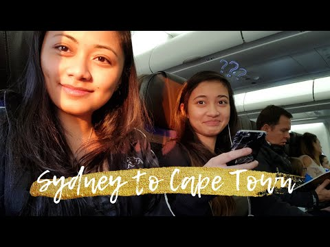 Sydney to Cape Town | The Journey to South Africa