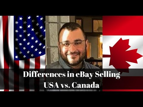Differences Between US And Canadian EBay Selling