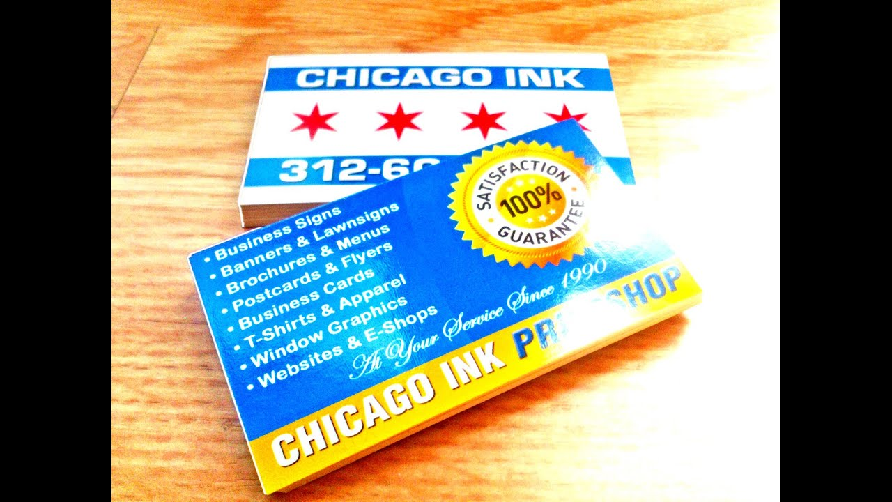 Business Card Printing in Chicago