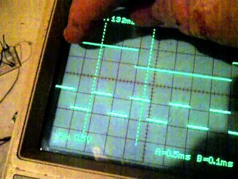 Hitachi V-1565 Oscilloscope A/B Horizontal Options with Delay Sweep and Zoom Factors