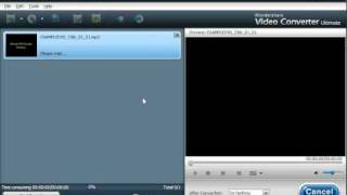 Wondershare Video Converter Ultimate Demonstration - Rip Audio Tracks!