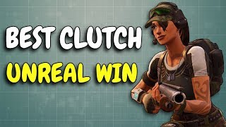 UNREAL CLUTCH | One of the best you will ever see!
