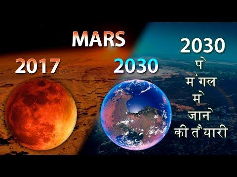 2030 पे मंगल मे रहेगा इंसान (100% proof)   Man will live ...