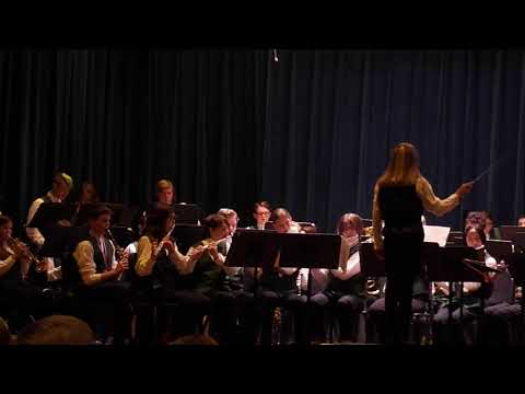 5-9-2017 Marshall-Locke Middle School Band Concert - Somewhere Over The Rainbow