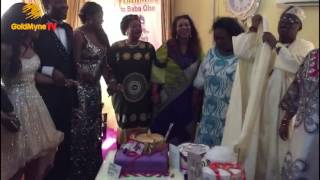 WATCH OONI OF IFE39S  FATHER39S 75TH BIRTHDAY CELEBRATION Nigerian Music amp Entertainment