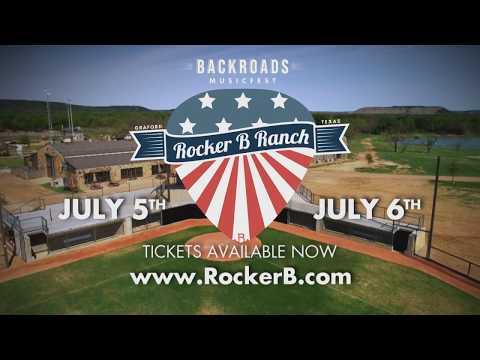 Backroads Music Festival at Rocker B Ranch | July 5th & 6th, 2018 FINAL LINEUP!