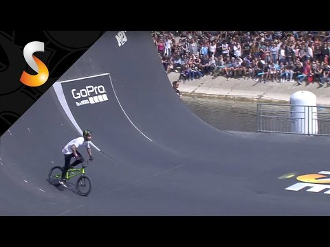 Alex Coleborn - 1st Semi Final UCI BMX Freestyle Park World Cup- FISE World Montpellier 2016