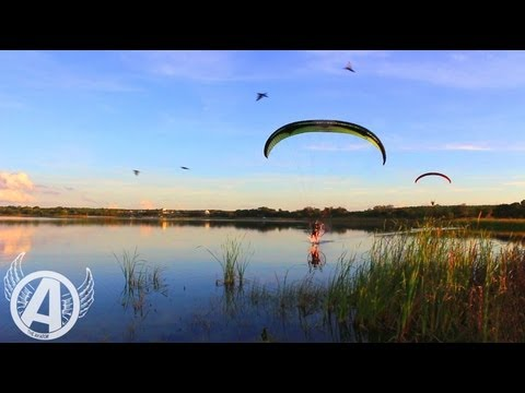 """EPIC: """"Calming the Heart"""" -- A Powered Paragliding Adventure"""