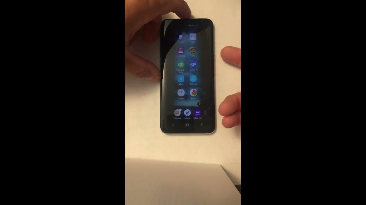 Changing Samsung S8 lock screen clock    PART 2