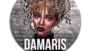 The Sims 4 Cas DAMARIS + Full CC List