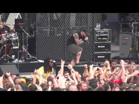 """All That Remains """"Hold On"""" & """"This Calling"""" Live @ Rock On The Range 2013 5-18-2013"""