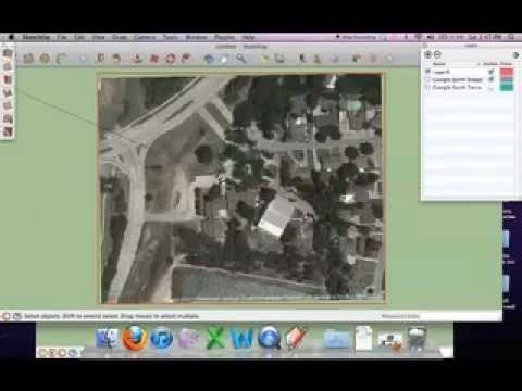 Landscape Design and Analysis: Draw Contour Lines on Google Sketchup
