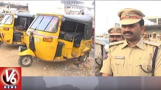 Mahabubabad Police Conducts Cordon And Search Operation | Seizes 27 Vehicles | V6 News