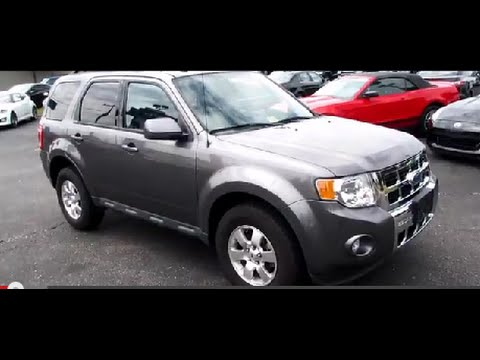 2011 Ford Escape Limited Walkaround, Start up, Tour and Overview
