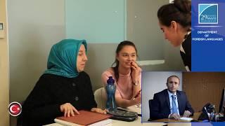 The Department of Foreign Languages - Asst. Assoc. Dr. Kerim Açık