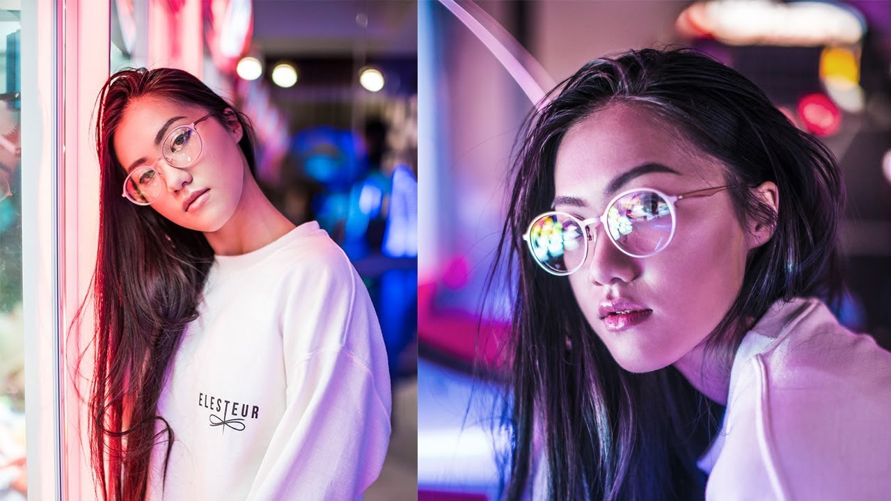 How To Shoot Neon Portrait Photography