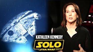 Kathleen Kennedy Cut Big Scene From Solo A Star Wars Story!