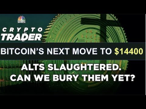 BITCOIN'S NEXT STOP IS $14400  Can we bury alts?