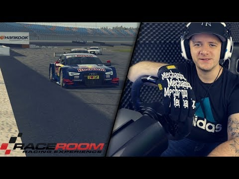 Crew Chief - RaceRoom DTM AUDI RS5 2014 Lausitzring / FANATEC CSL Racing Wheel + SimRacing RR3055