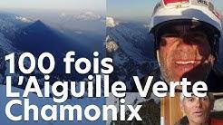 Aiguille Verte Alain Iglésis 100 fois au sommet montagne alpinisme Chamonix Mont-Blanc