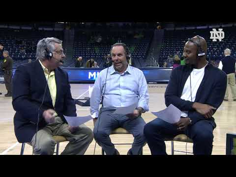 @NDMBB | Mike Brey Post Game Radio vs Louisville 2018