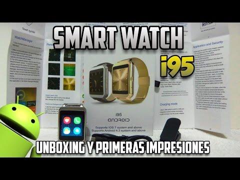 i95 - Smartwatch Con Android! - Reloj Inteligente Super Económico - Unboxing y Primeras Impresiones