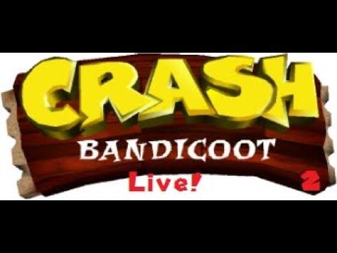 Crash Bandicoot 1 (PS1) Livestream Episode 2: The WOAH Factor!