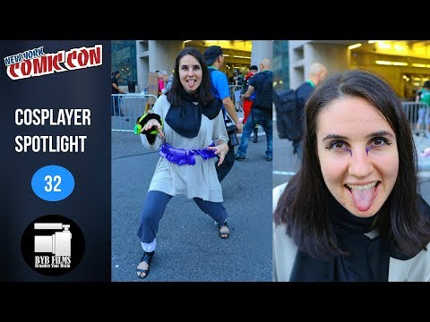 Alycia - Cosplayer Spotlight - Episode 32 | New York Comic Con 2017
