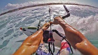 Kitesurfing Strapless - POV Style